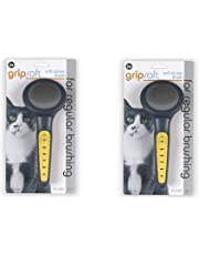 JW Pet Company GripSoft Cat Slicker Brush (2 Pack)