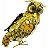 Owl Garden Ornaments Large Metal Figurine Lawn Patio Sculpture Rolson 84002