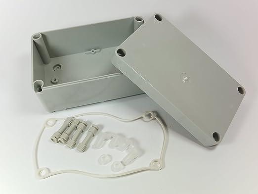 3 opinioni per 170MM X 105Mm X 85mm impermeabile custodia in plastica Enclosure Power