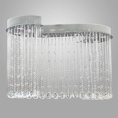 Lámpara de techo Cristal,Nclon Downlight Techo Candelabro ...