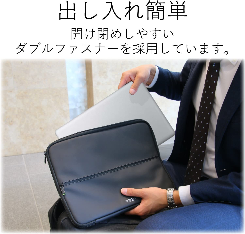Thumbnail of エレコム パソコンケース 13.3インチ (macbook pro 13) 衝撃吸収 ZEROSHOCK スリム ブラック3$