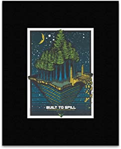 Stick It On Your Wall Built to Spill - Arcata Ca 2009 Mini Poster - 29.4x21.9cm
