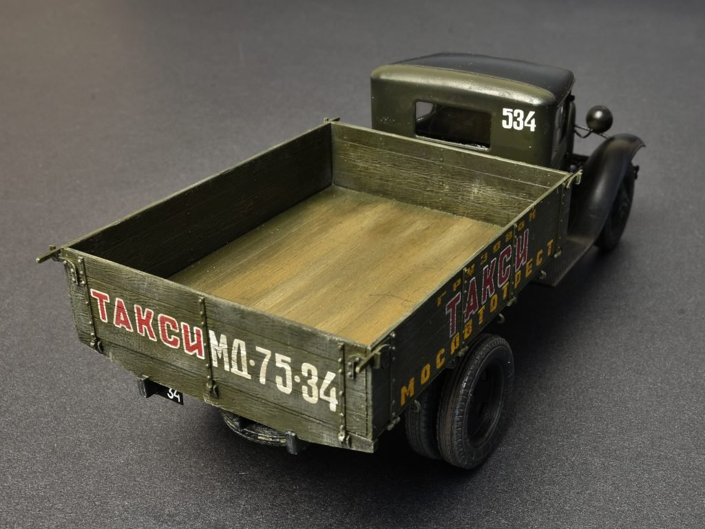 Unbekannt Mini Tipo 38013/Maqueta de Soviet 1.5/Ton Cargo Truck