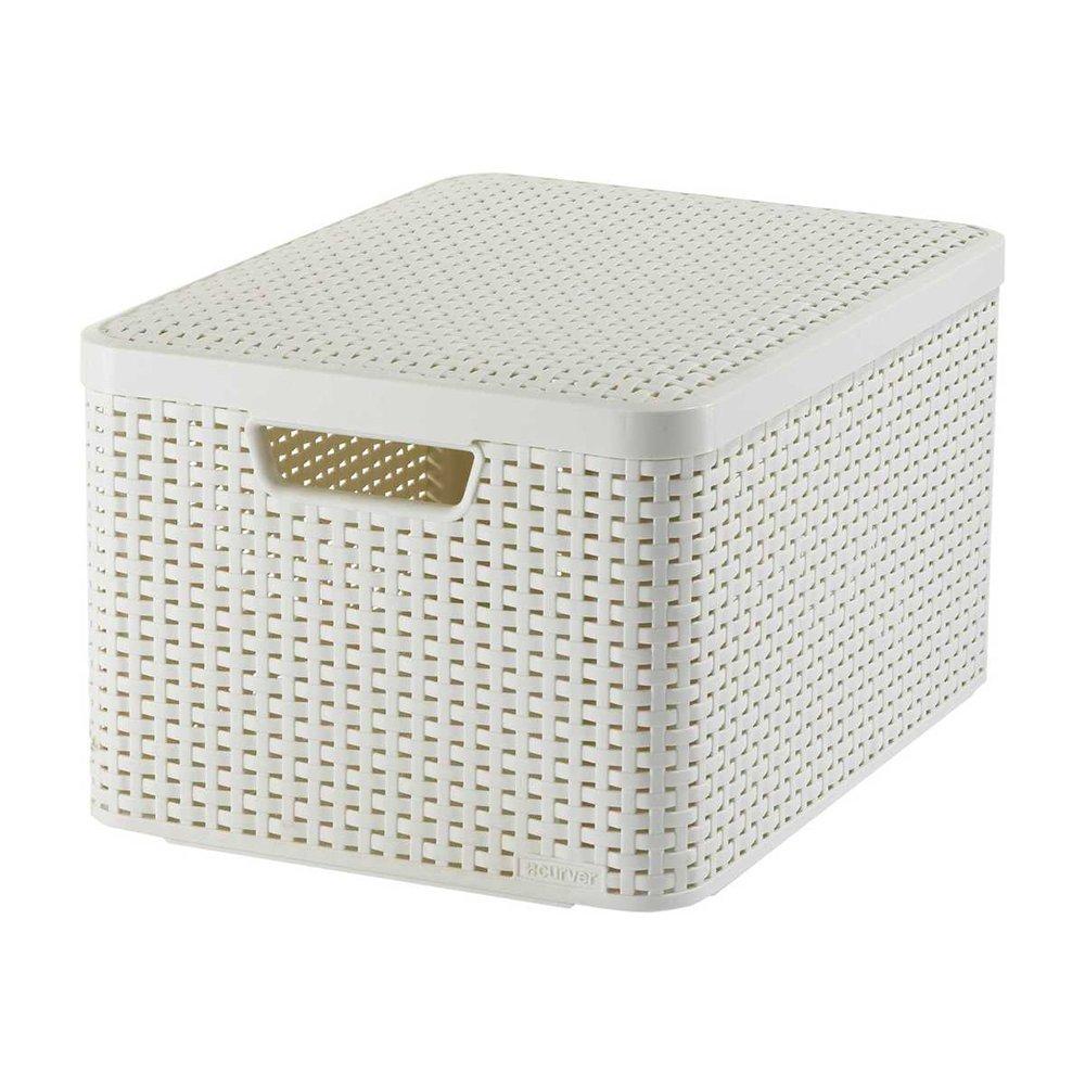 Möbel & Wohnen Boxen Aufbewahrungsschachtel Kunststoff Auf Rollen Aufbewahrungsbox Box 60 L Curver Auf Der Ganzen Welt Verteilt Werden