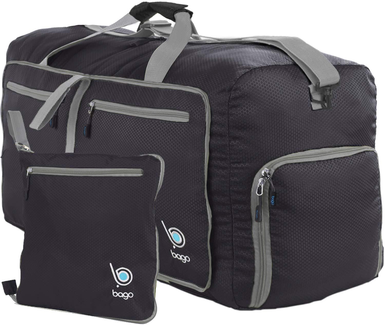 Bago Reisetasche Sporttasche für Männer und Frauen - 60L - 80L Duffle Bag  mit schuhfach für