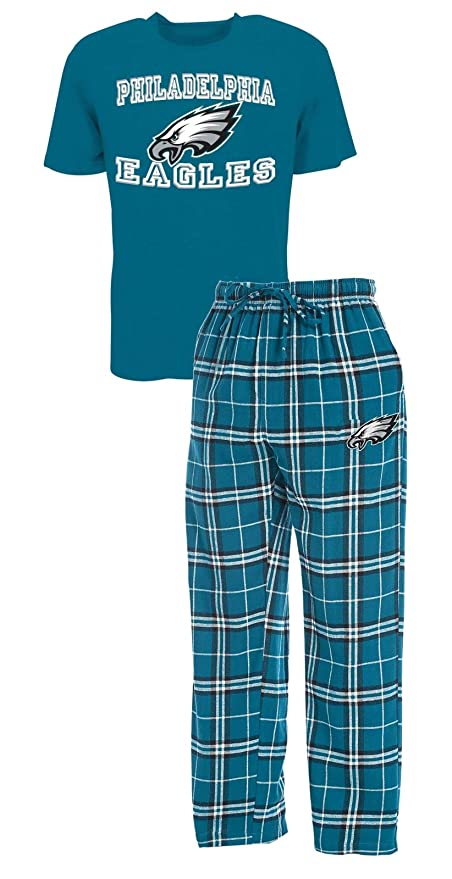 b693970849 Concepts Sport Philadelphia Eagles NFL Great Duo Men s T-Shirt   Flannel  Pajama Sleep Set