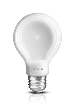 A19 Led Light Bulbs: Philips 452978 60-Watt Equivalent SlimStyle A19 LED Light Bulb Soft White,  Dimmable,Lighting
