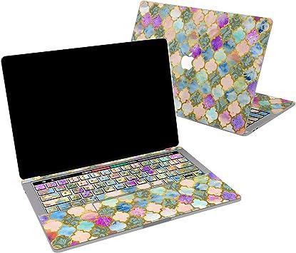 Golden Boho Mandala Macbook Air 11 Inch Sleeve Laptop Vinyl Sticker Case Pro 13