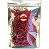 Premium Thai Dried Chili Pepper l 2 Big Bags l Super Dry and Extremely Spicy, Use to Cook, For Chili Oil, Hot Sauce, BBQ Sauce, Curry, and Chili Paste