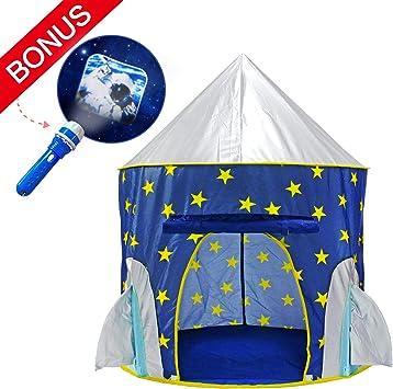 Amazon.com: Tienda de campaña Yoobe Rocket con proyector de ...