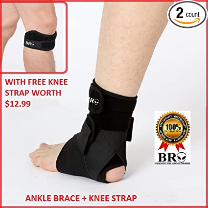a5ac2a7542f BRO ANKLE SUPPORT  3 Point Compression