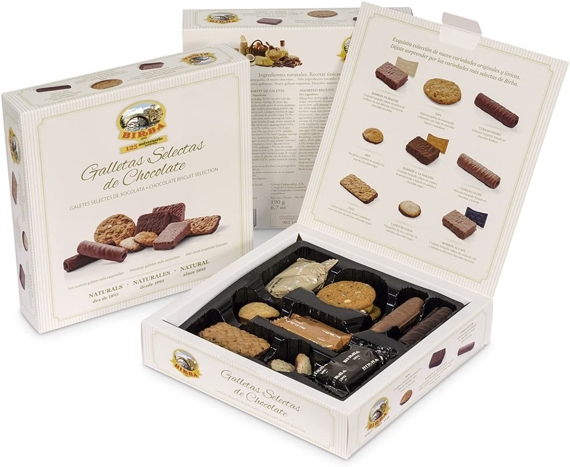 Birba Surtido Galletas Selectas De Chocolate 200 g: Amazon.es ...