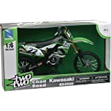 New Ray 1:6 Kawasaki KX 450F Dirt Bike Motorcycle Toy