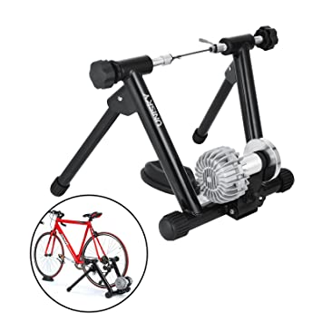 TravelerK Rodillo tecnología Fluid de ciclismo Negro Fluid 2 Turbo Trainer Plus Winter Training Kit para Entrenamiento de Bicicleta en Interior (negro): ...