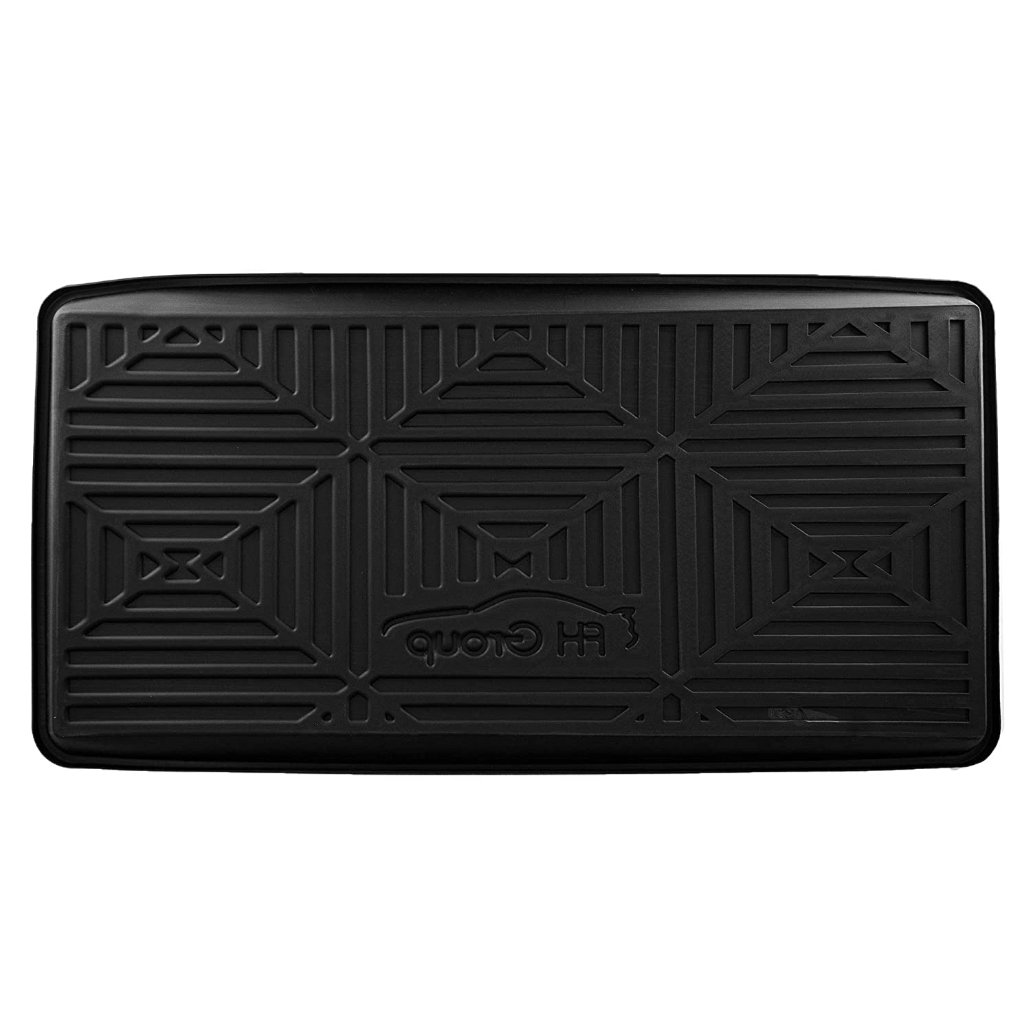FH Group F16407-32 Black 32 x 24 Premium Multi-Use Car SUV and Garage Trunk Mat Cargo Tray Liner