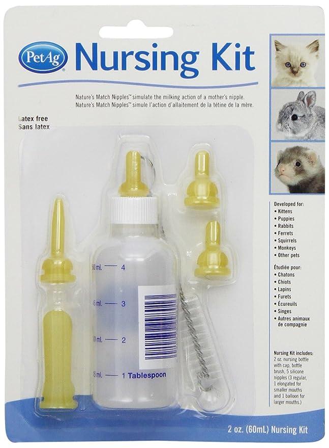 Pet Ag Enfermería Kit 2oz de Botella (para): Amazon.es: Productos para mascotas