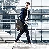 SHANGRI-LA Messenger Bag for Men and Women Waxed