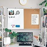 Combination Whiteboard Bulletin Cork Board 36 x