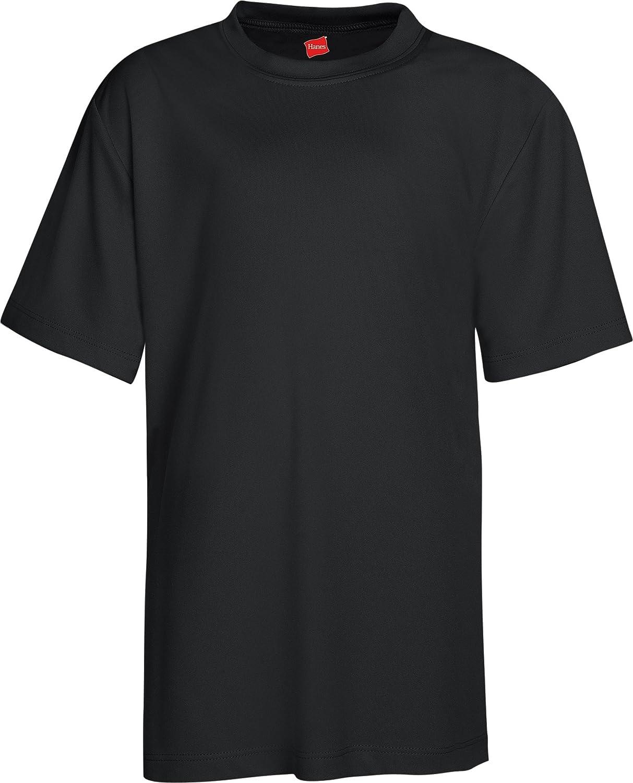 Black t shirt hanes - Amazon Com Hanes H482y Hn Yth Ss Performance T Athletic T Shirts Clothing