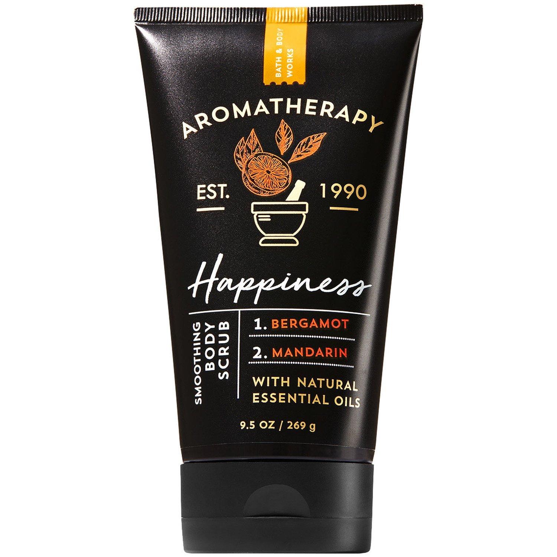 Bath & Body Works Aromatherapy Happiness Bergamot & Mandarin Body Scrub 269g/9.5 oz