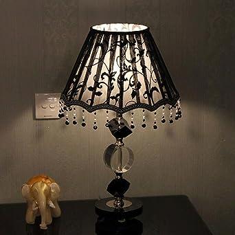 pride s nero neoclassico camera da letto lampada da tavolo in ... - Soggiorno Neoclassico 2