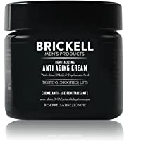 Brickell Men's Revitalizing Anti-Aging Cream For Men, Natural and Organic Anti Wrinkle Night Face Cream To Reduce Fine…