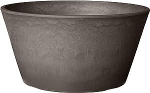 Arcadia Garden Products PSW TD25DC Sleek Bulb Pan, 10 by 5-Inch, Dark Charcoal