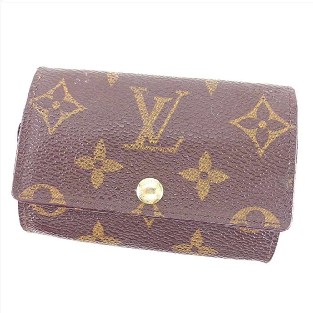 (ルイ ヴィトン) Louis Vuitton キーケース 6連キーケース ブラウン ミュルティクレ6 モノグラム メンズ可 中古 T540   B0772PYV71