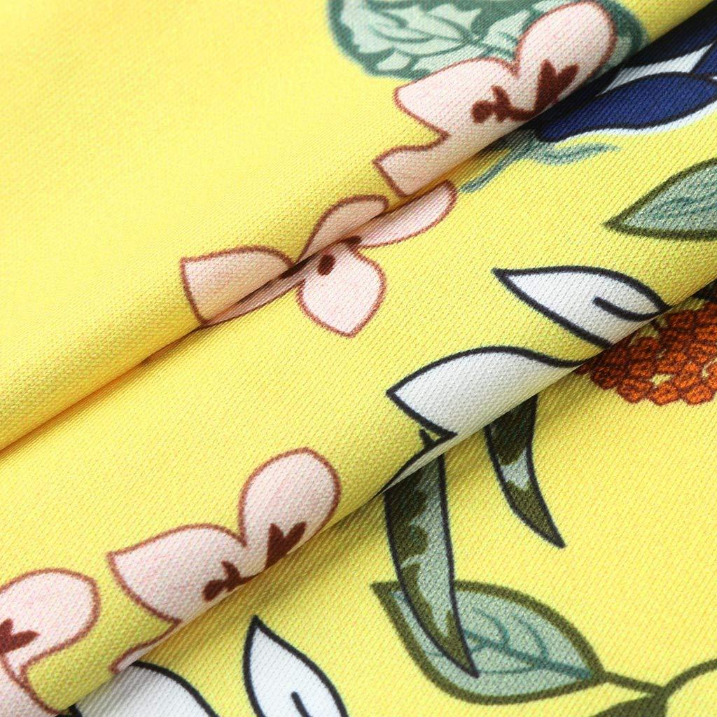Women Casual Retro National Style Sleeveless Hanging Neck Tee Blouse Shirt Tops