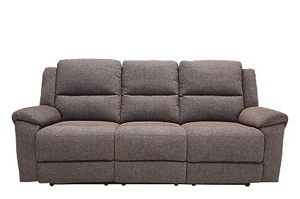 Marvelous Amazon Com Homeroots Gray 39 Modern Grey Fabric Power Frankydiablos Diy Chair Ideas Frankydiabloscom