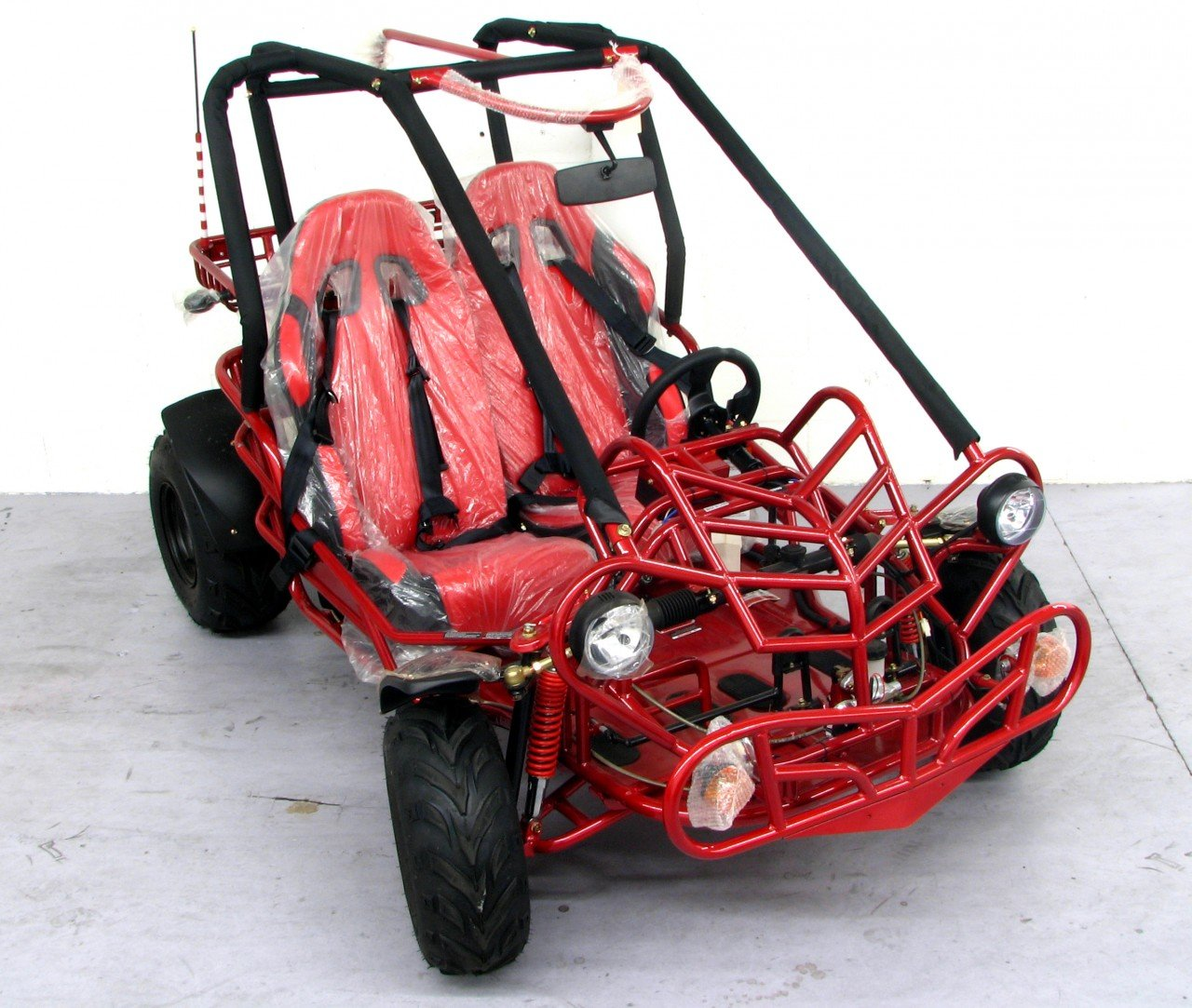 Amazon.com: Kandi 150cc 2-seat Go Kart (KD-150GKC-2): Sports & Outdoors