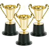 New Fashion 10pcs Golden Cups Trophy Sports Winner Educational Props Kids Reward Prizes Toys With The Best Service Model Building Kits