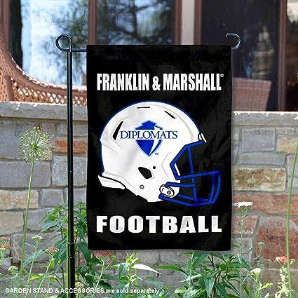 Franklin /& Marshall College Football Helmet Garden Flag