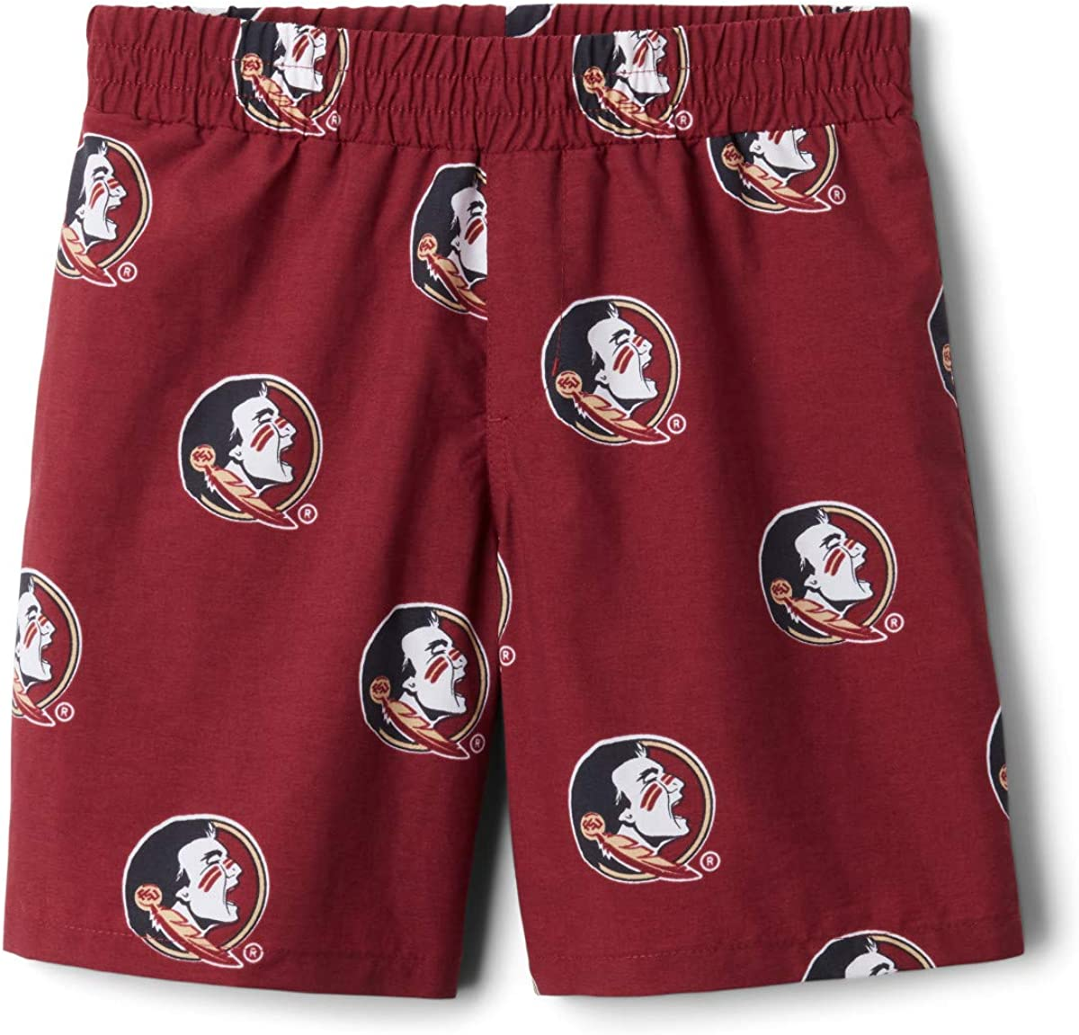 Columbia Boys Collegiate Youth Backcast Printed Short