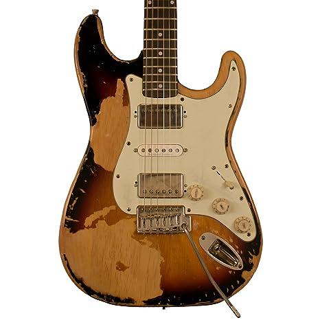Diente de Sierra st-esar-sbmgr diseño guitarra eléctrica