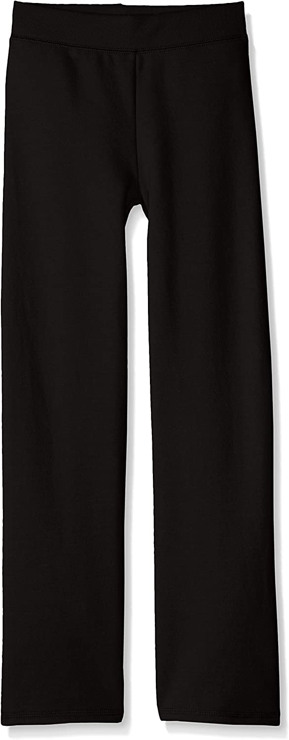 Hanes ComfortSoft EcoSmart Girls' Open Bottom Leg Sweatpants: Clothing