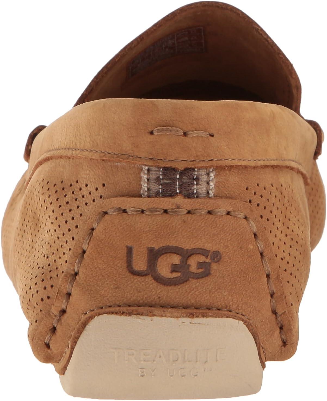 UGG Men's HenrickStripePerf Driving Style Loafer Tamarind