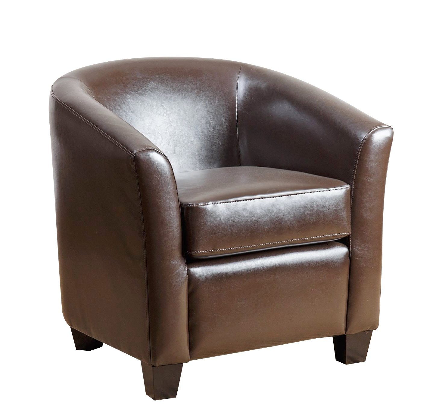Abbyson Montecito Leather Armchair