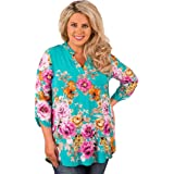 DaySeventh Women's Boho Blouse V Neck Tops Pullover Shirt Blouse