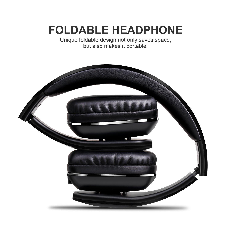 Auriculares Bluetooth de Diadema Plegable /Mixcder MSH101 V4.1 Wireless Bluetooth Auriculares/Auriculares Manos libres Micrófono incorporado/para uso como ...