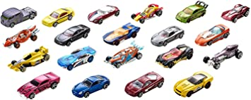 Oferta amazon: Hot Wheels Pack de 20 vehiculos, coches de juguete (modelos surtidos) (Mattel H7045)