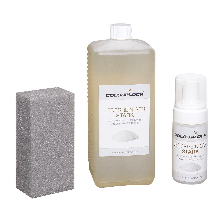 COLOURLOCK - Limpiador para cuero (fuerte, 1 litro, incluye dispensador de 125 ml) COLOURLOCK Lederzentrum GmbH
