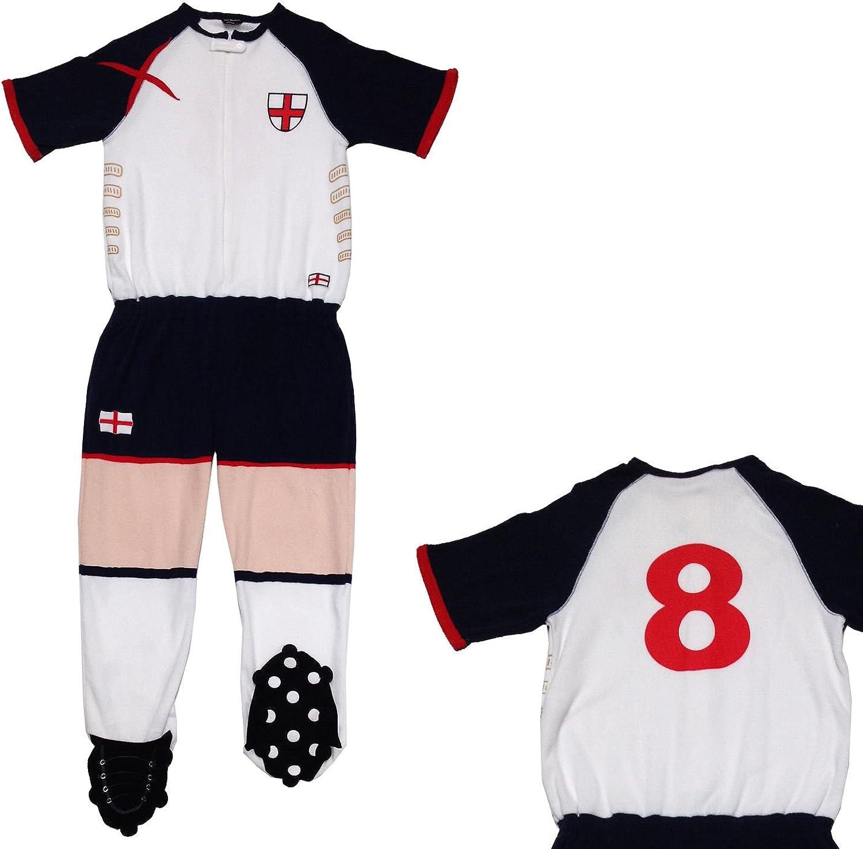 PRIMARK para hombre England Futbolista Onesie Tamaño S Pequeño con ...