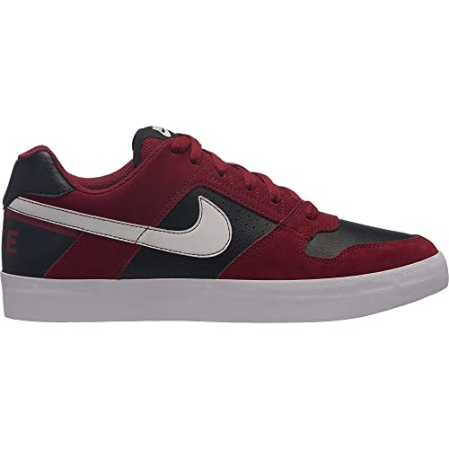 Nike SB Delta Force Vulc, Zapatillas para Hombre, (Red Crush Black/White