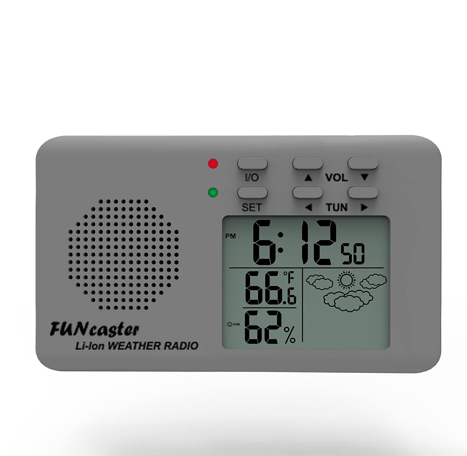 Amazon.com : FUNcaster Golf Cart Weather Display Radio w/Cell ...