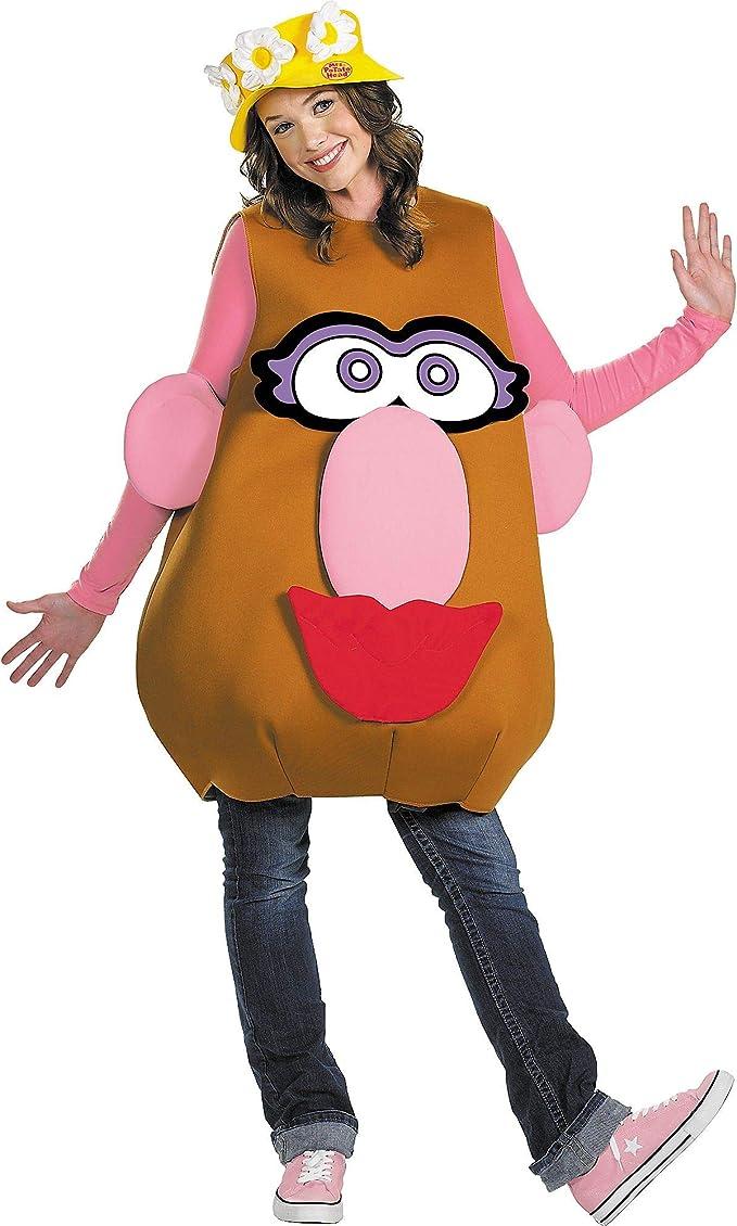 Disfraz de Señor y Señora Potato Adulto Cualquier día: Amazon.es ...