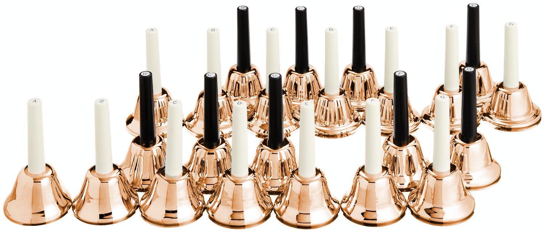 KC Music Bell (Handbell) 23 sound set MB-23K / C Copper by KYORITSU CORPORATION