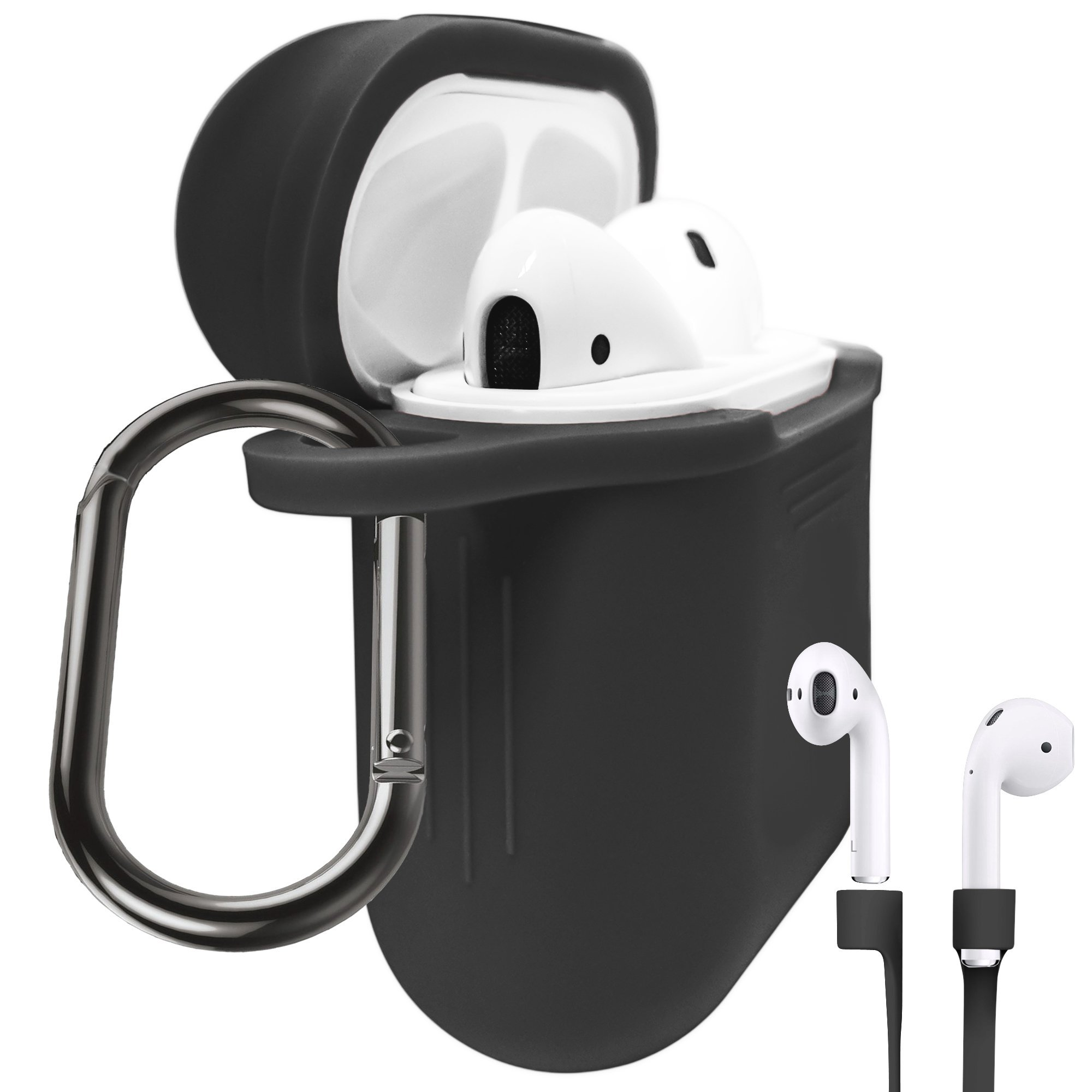 promo code 05102 b3dd5 Galleon - Premium AirPods Protective Case For Apple AirPods Charging ...
