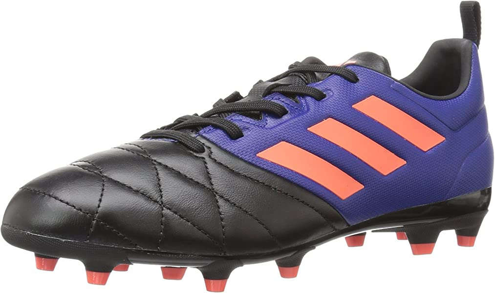 adidas Women s ACE 17.3 FG W Soccer Shoe Mystery Ink Easy Coral Black 5 64713228d
