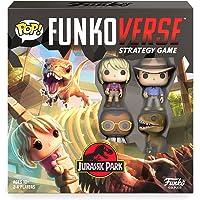 Funkoverse Strategy Game Jurassic Park 100 Base Set